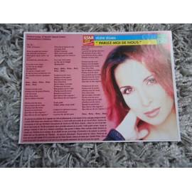 2 fiches chanson Hélène Ségara / Toni Braxton / Manau + 2 cartes + 1 mini carte + 2 autocolants