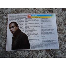 1 Fiche chanson Sean Paul / Raphael + 1 carte Sean Paul