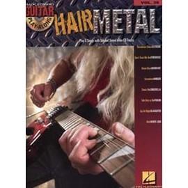 GUITAR PLAY ALONG VOL.035 HAIR METAL TAB AVEC CD