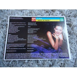1 Fiche chanson Eve Angeli / Lucy Pearl + 3 cartes Eve Angeli