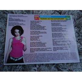 1 Fiche chanson Sophie Ellis-Bextor / David Guetta + 1 carte Sophie Ellis-Bextor