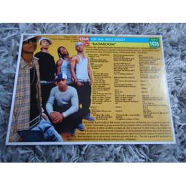 1 fiche chanson Willy Denzey / Avril Lavigne + 1 carte Willy Denzey + 1 carte secret Willy Denzey + 1 autocolant Willy Denzey