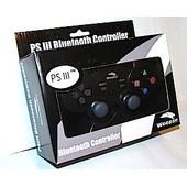 Woopso Manette Vibrante Filaire Noire Compatible Ps3/Pc