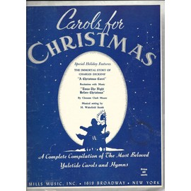 carols for christmas the immortal story of charles dickens
