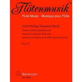 Bach C P E : Sonata: A Minor: Flute Solo