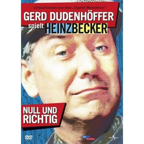 GERD DUDENHÖFFER SPIELT HEINZ BECKER: NULL UND RICHTIG! [IMPORT ALLEMAND] (IMPORT) (DVD)