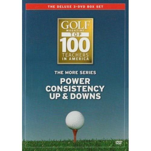 GOLF MAGAZINE TOP 100 TEACHERS - THE MORE SERIES [IMPORT ANGLAIS] (IMPORT)  (COFFRET DE 3 DVD)