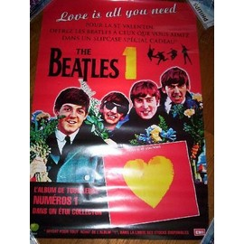 The Beatles Affiche promo 1 Special Valentine's day