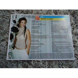 Lot de 2 fiches chanson Lorie / Ilona Mitrecey / J-Five + 1 carte secret Lorie