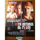 Le Talentueux Monsieur Ripley De Anthony Minghella / Matt Damon - Affiche De Cin�ma 120 X 160 Cm