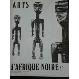 Arts D'afrique Noire 40 -Les Perles De Verre Au Cameroun : Pierre Harter