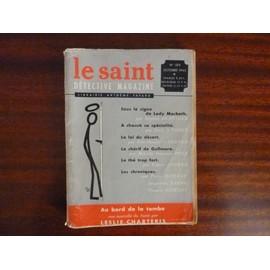 Le Saint D�tective Magazine N� 104 : Leslie Charteris - Erle Stanley Gardner - Fred S. Tobey