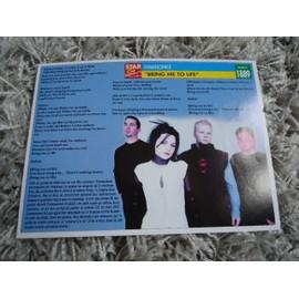 1 Fiche chanson Evanescence / J.Labylle, Cheela, J.Desvarieux & Passi