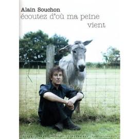 Souchon Alain : écoutez d'où ma peine vient (chant+piano+accords)