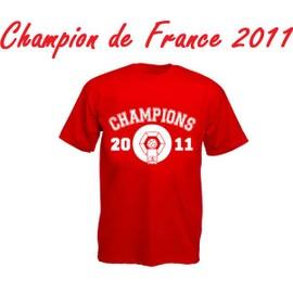 T-Shirt Maillot Officiel Losc Lille Olympique Sporting Club - Champion De France 2011 Football Ligue 1 - 57 Ans Apr�s !