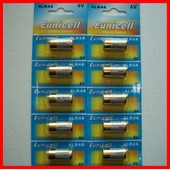 10 Piles Alcaline 4lr44 -6v Pour Collier Anti Aboiement Chien - Photo Alarme