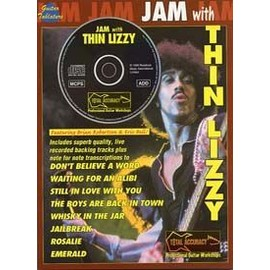 THIN LIZZY JAM WITH GUITAR TAB CD