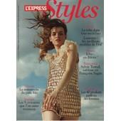 L'express Styles / 29-05-2008 N�2969 : Sylvie Testud (5p) - Ara Starck (1p)