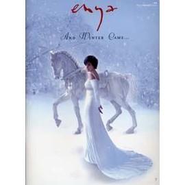 ENYA SONGBOOK DE L'ALBUM AND WINTER CAME POUR PIANO /CHANT /GUITARE