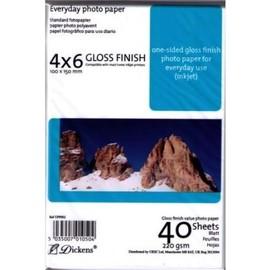 Papier Photo 4 X 6 Polyvalent