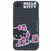 Hello Kitty Au Telephone Coque De Protection Iphone 4