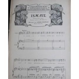 ismaïl de louis dumas / danse lente de cesar franck. Extraits, Sup À L'illustration, 1906