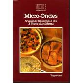 Micro Ondes Cuisiner Ensemble Les 3 Plats D'un Menu de TUPPERWARE