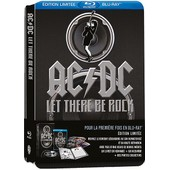 Ac/Dc - Let There Be Rock - �dition Collector Limit�e - Blu-Ray de Eric Dionysius