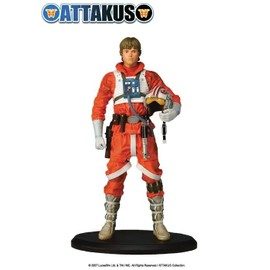 Statue Luke Pilote Star Wars Attakus
