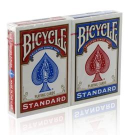 2 Jeux De Cartes Bicycle Regular Magie Et Poker