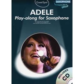GUEST SPOT ADELE SAXOPHONE CD