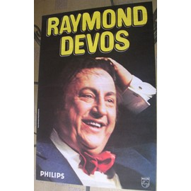 AFFICHE SPECTACLE RAYMOND DEVOS