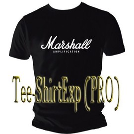 T-Shirt Marshall Amplification - Tee Shirt Marshall Amplification - Taille S M L Xl Xxl