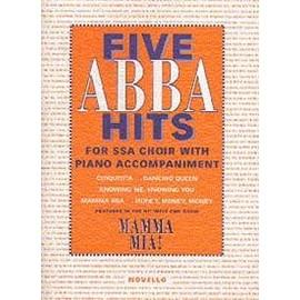 FIVE ABBA HITS SSA