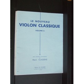 Le nouveau violon classique Violon et Piano Volume G (mélange des positions)