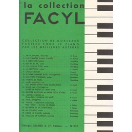 """la colection FACYL n°16 TRIADE """"complainte irlandaise"""" """"hop ! hop! """" marche de malika"""""""