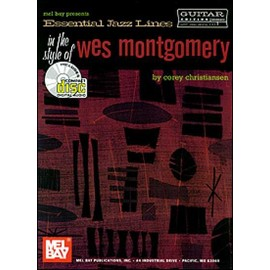 Essential Jazz Lines in the Style of Wes Montgomery + CD