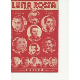 Luna Rossa (Prière à la Lune)