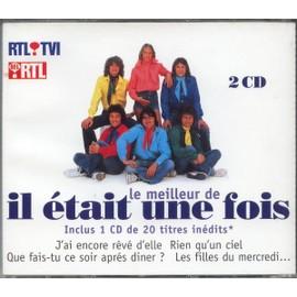 IL ETAIT UNE FOIS DOUBLE CD TITRES INEDITS POSTER