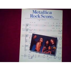 """Metallica Rock Score """"one"""" """"jump in the fire""""..."""