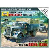 Maquette Camion Allemand Opel Blitz 1937-1944