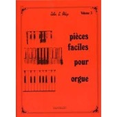 Pieces Faciles Orgue Vol 3