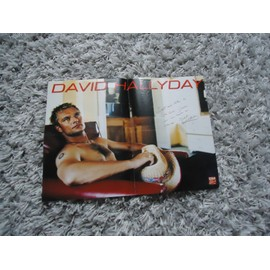Poster réversible David Hallyday / S Club 7