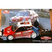 Citroen Xsara Wrc Winner Rally Monte Carlo 2005 1/43 Loeb Elena Ixo Altaya