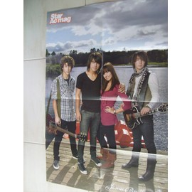 POSTER JONAS BROTHERS 56CM/82CM VERSO HIGH SCHOOL MUSICAL 3
