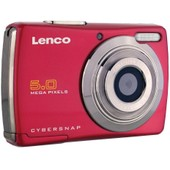 Appareil photo num�rique Lenco DC-511 Red