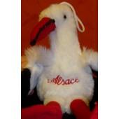 Peluche Cigogne Alsace