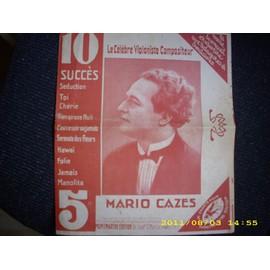 10 succès de mario cazes, le célèbre violoniste compositeur