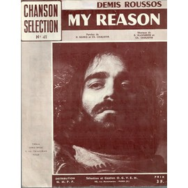 demis roussos my reason partition N° 41 CHANSON SELECTION