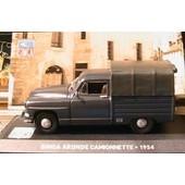 Simca Aronde Camionnette Bachee 1954 Ixo Gris Noir 1/43 Altaya